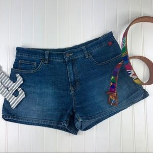 BCBGMAXAZRIA Denim Short Shorts